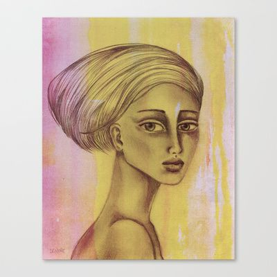 There is a kind of sadness that never disappears Stretched Canvas by denthe - $85.00