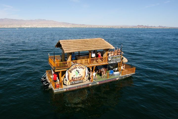 Pirates Barge Lake Havasu, Az is only one the many things to see and do in Lake Havasu City, AZ