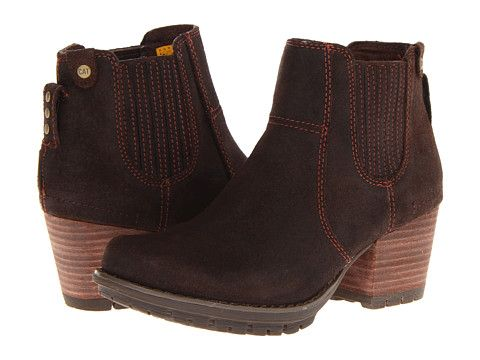 Caterpillar Casual Allison Mocha Oiled Suede - 6pm.com