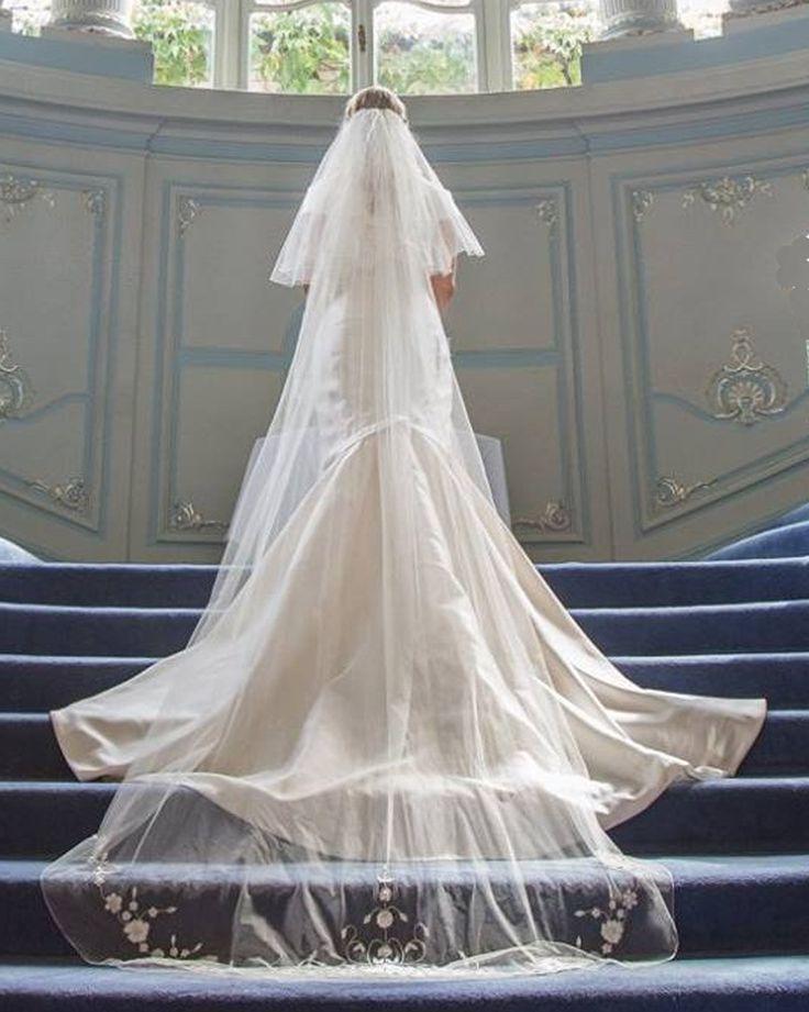 Best images about silk wedding veils on pinterest