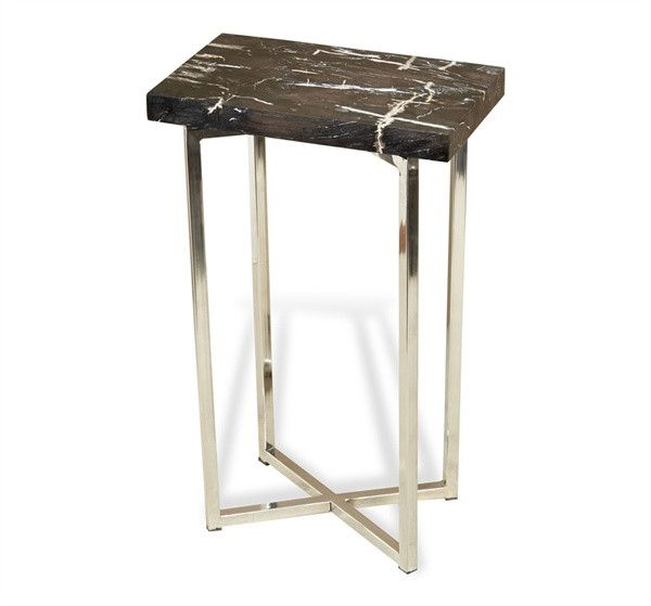 Entry7 Argo Rectangular Drink Table From Cadieux Interiors End