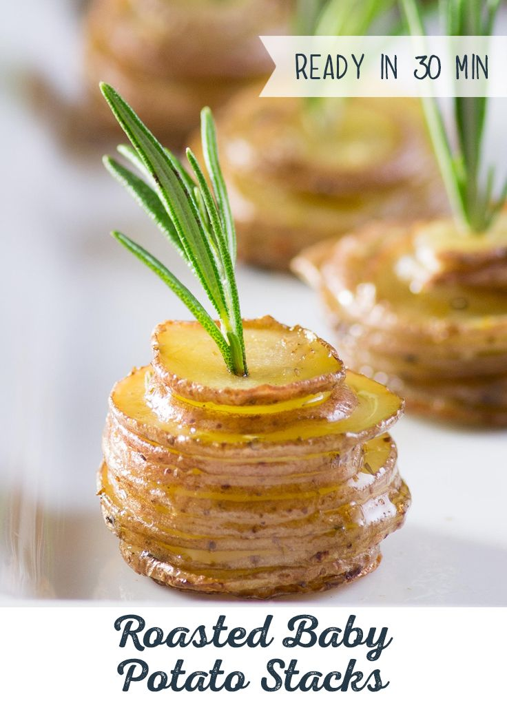 Potatoes were made for stacking! Step up your apps…