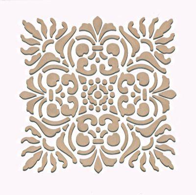 Sicilia Tile Craft Stencil from Royal Design Studio