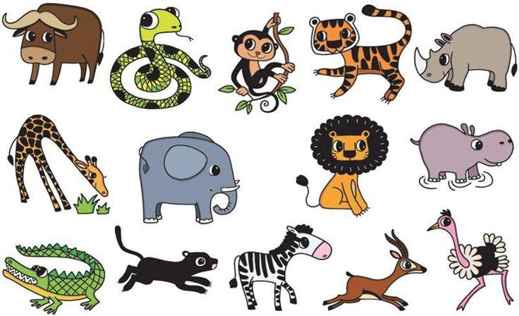 Kinderstempel Tiere Safari mit Stempelkissen von Aladine - Bonuspunkte sammeln, Kauf auf Rechnung, DHL Blitzlieferung