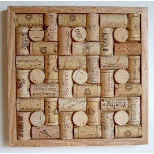 Wine Cork Trivet - Framed