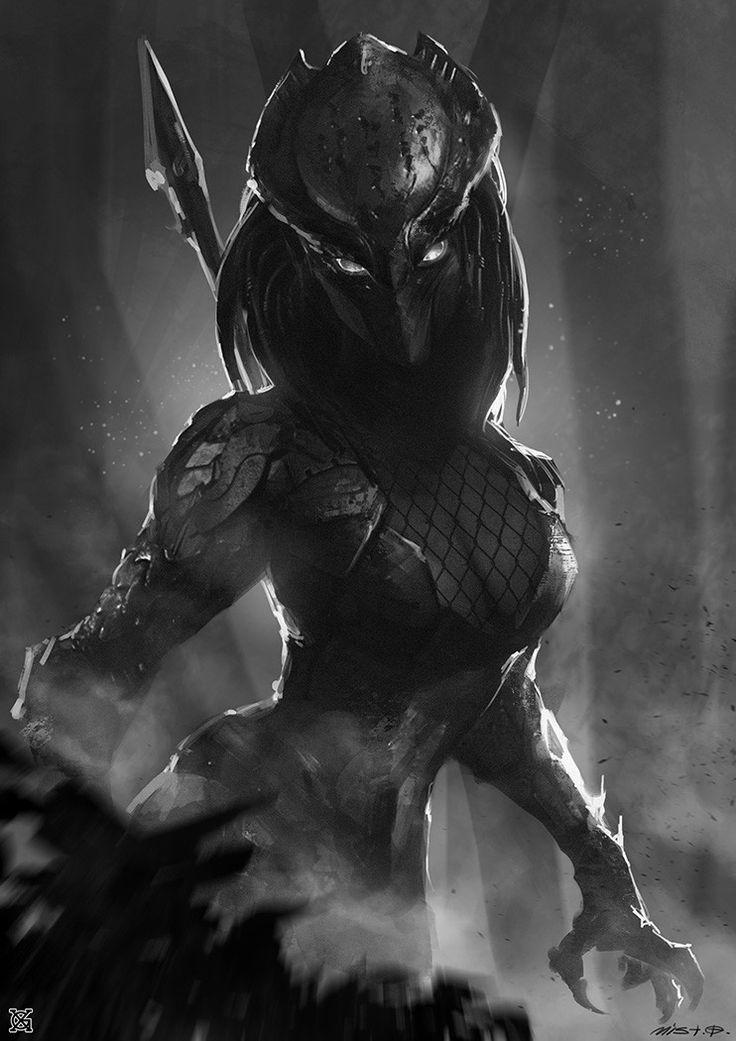 Female predator, mist XG on ArtStation at https://www.artstation.com/artwork/ezkXP?utm_campaign=notify&utm_medium=email&utm_source=notifications_mailer