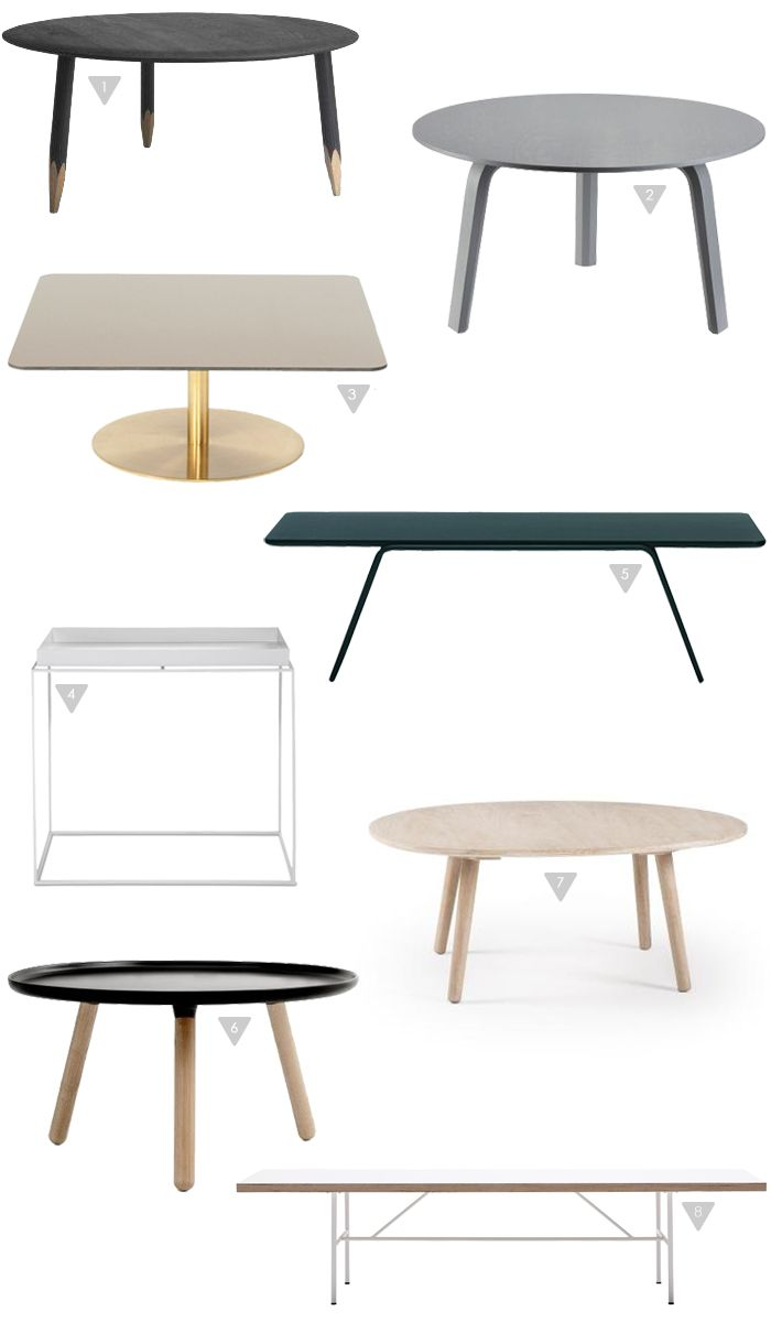 Friday Favorites, Coffee tables, Stylizimo Shop