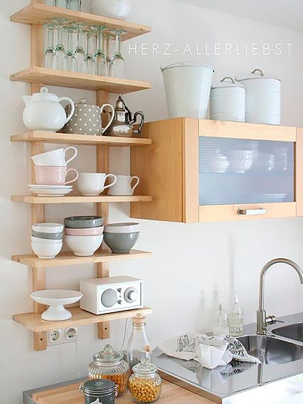M s de 25 ideas incre bles sobre organizaci n de peque as - Ideas cocina pequena ...