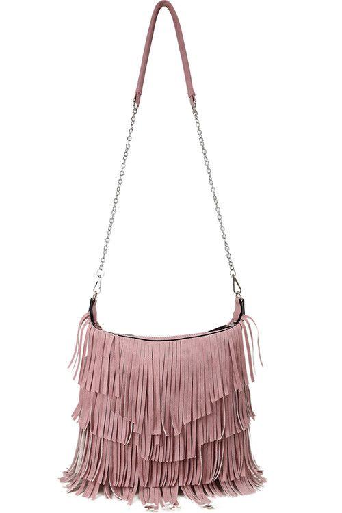 Androgyny Fringe Bag