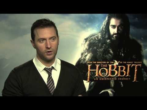 The Hobbit -- Thorin Oakenshield Actor Richard Armitage Interview -- The meme interview!! Richard, you are adorable.