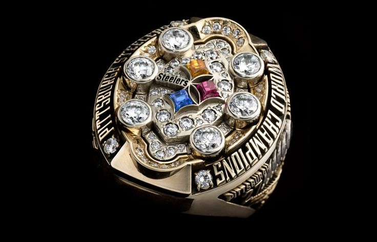 Super Bowl XLIII - Pittsburgh Steelers | 48 Mind Blowing Photos Of Every Super Bowl Ring Ever