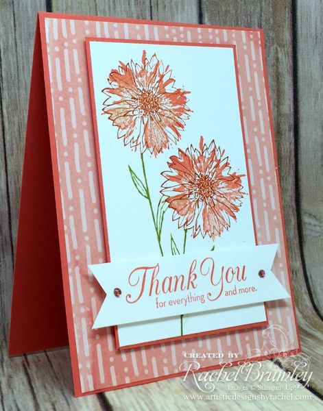 Stampin' Up! Touches of Texture | Rachel Stamps