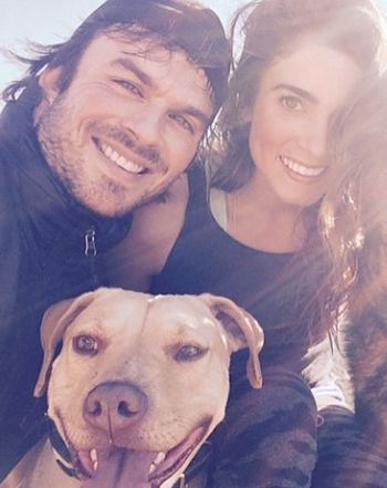 """Ian Somerhalder Planning a """"Great Future"""" With Nikki Reed in 2015: Pic - Us Weekly"""