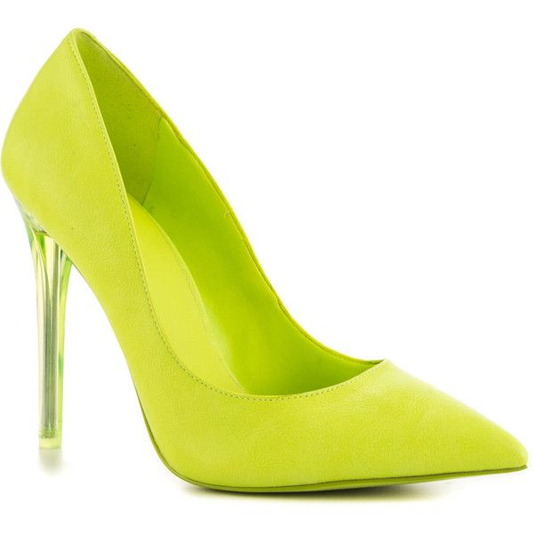 Aldo Women's Nika - Light Yellow ($90) ❤ liked on Polyvore featuring shoes, pumps, pointed toe high heel pumps, multi-color pumps, multi color shoes, pointed toe shoes and multicolor shoes