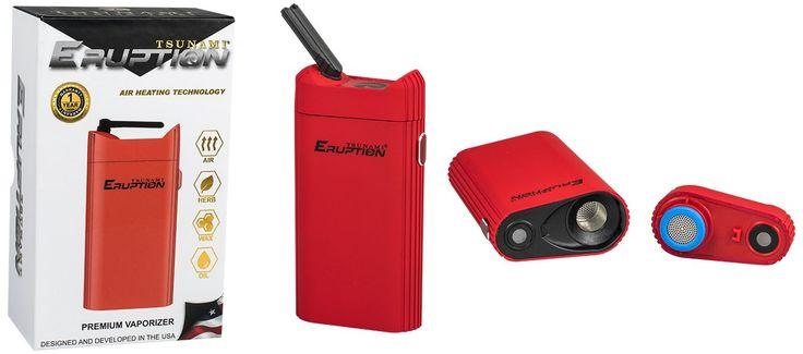 Vaporizador 3 en 1 Tsunami Eruption Premium  Vaporizador para Hierbas secas, WAX O CERAS y para Aceites. Nuevo y revolucionario vaporizador Tsunami 3 en 1, para hierba seca, wax o ceras y BHO-Aceites de marihuana con Bubbler incorporado. Muy fácil de usar y portátil. Cabe en cualquier sitio para que lo lleves siempre detrás. En PowerCogollo.com te recomendamos el uso de los vaporizadores para cuidar tu salud.  batería de 2200 mAh    Tecnología> FLUJO DE AIRE CALEFACCIÓN   3 en 1 (SECO Hie...