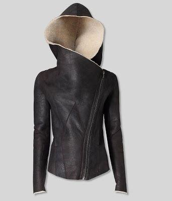 Helmut Lang sherling jacket