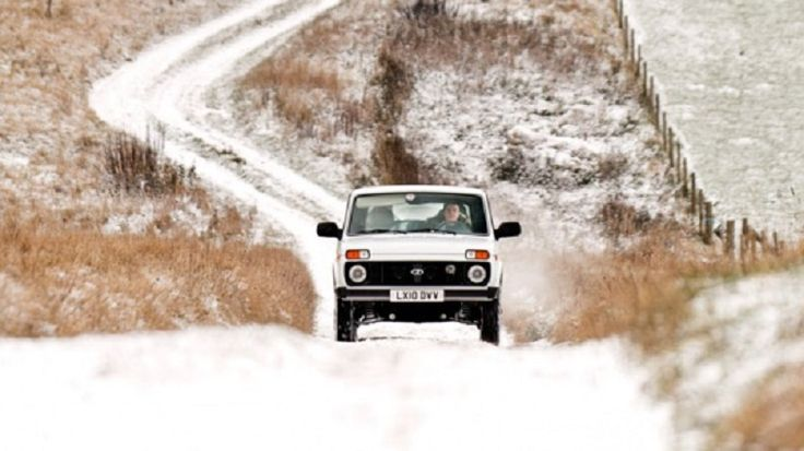 Lada Niva 4x4 (James May) Top Gear