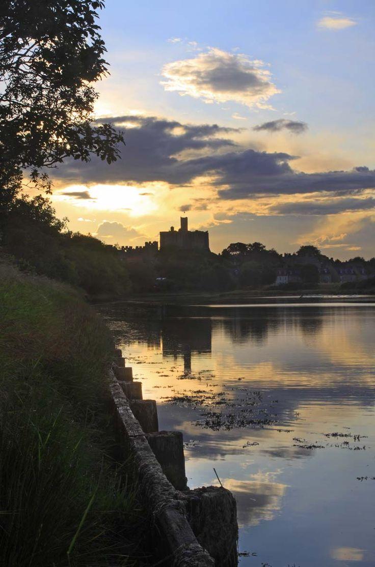 Warkworth Castle, Northumberland, UK