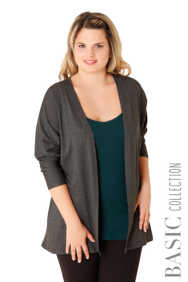 Βισκόζ μακριά ζακέτα - Ρούχα - Νέες Παραλαβές | XLcloset