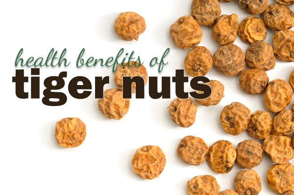 What's a Tiger Nut?  Find out the great health benefits these (not so nuts) provide! #Tigernuts #Superfood #Organic #HealthyEating #HealthyLifestyle