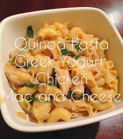 Bell Bliss: Quinoa Pasta Greek Yogurt Chicken Mac and Cheese