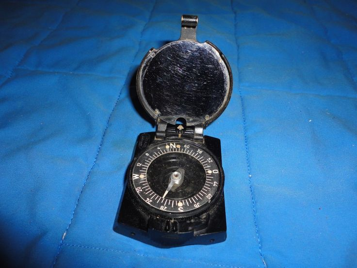 Vintage Collectible WWII WW2 German Military Busch Rathenow Officers Compass