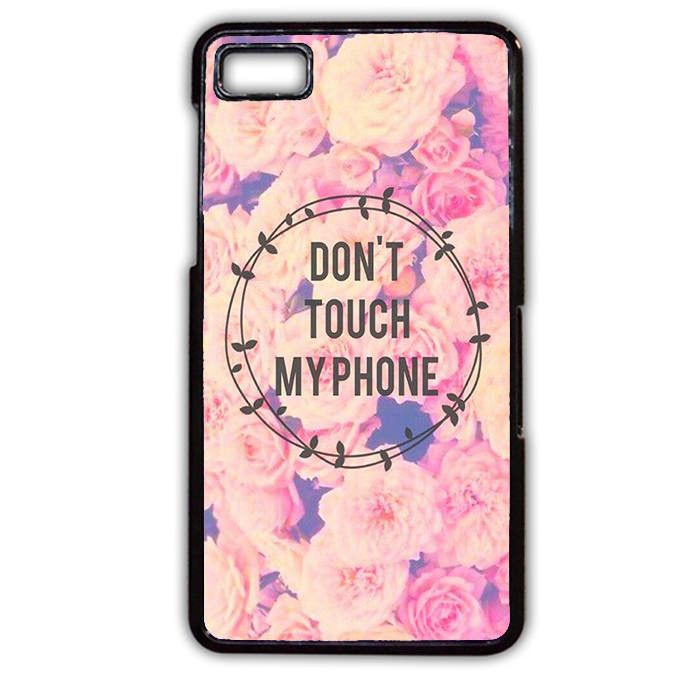 Iphone Wallpapers – Do Not Touch My Phone Flower TATUM-3489 Blackberry Phonecase Cover For Blackberr…