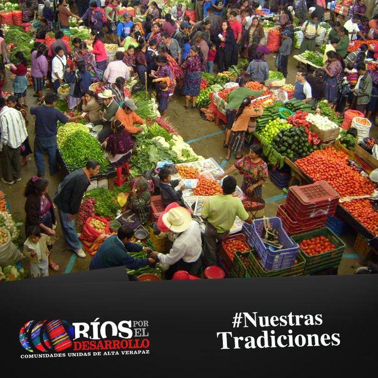 Las actividades de mercado constituyen la mayor fuente de ingreso para las comunidades. En Chisec, Santa Cruz Verapaz y Tactíc, los días de mercado se realizan jueves y domingo. En Carcha y Cobán hay mercado permanente, en Tucurú el mercado abre los días martes y jueves; y en Senahú los martes, jueves y sábado.