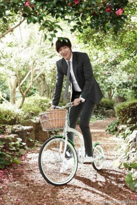 Lee Min Ho for Innisfree ads. Cute oppa!