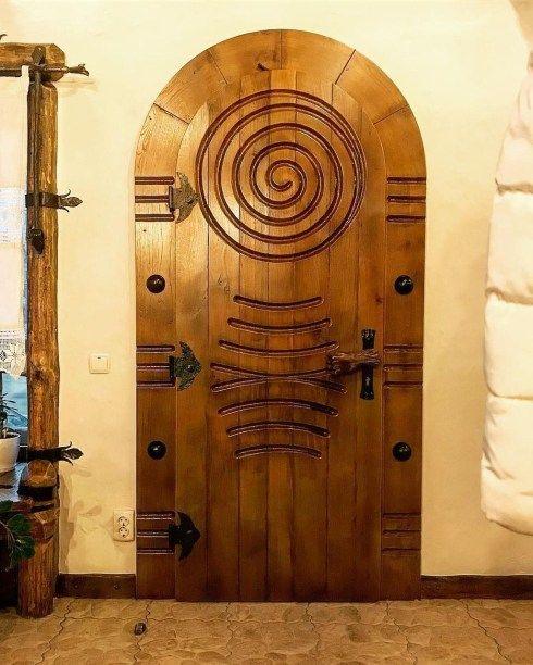Elegant Carved Wood Window Ideas 17