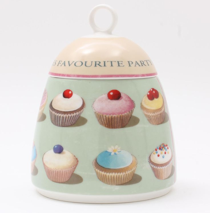 Fairy cake sugar/jam pot with lid and ceramic spoon...so cute!  https://www.ecpdesign.co.uk/products/shop-by-range/town-bakery