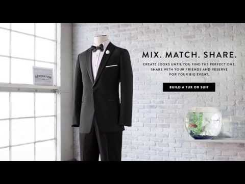 Online Tuxedo Rental - Online Suit Rental | Generation Tux