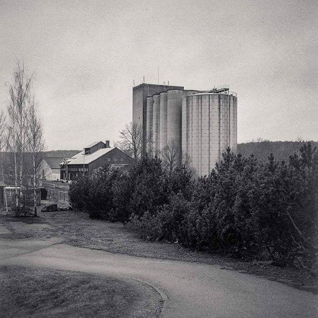 Rimforsa silo #silo #rimforsa #kinda #östergötland #industrial
