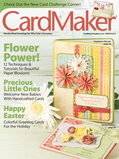 Elke 2 maanden een tijdschrift volop inspiratie om kaarten te maken, ook verkrijgbaar in een digitale versie, handig voor als je niet woont in Amerika #magazine #cards