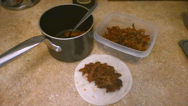 ManFood Recipe: Dehydrated Pulled Pork  Great recipe for camping ... Beats your canned mystery meat!