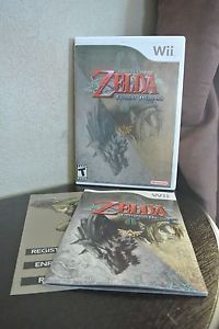 The Legend of Zelda: Twilight Princess Wii COMPLETE w/ case, manual/insert, disc