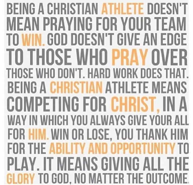 Christian Athlete Quotes: Quotes And Inspirational Sayings