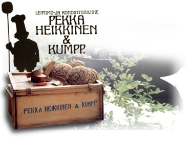 Pekka-Heikkinen is local, widely known bakery. Its famous  wood-burning stove made bread is not praised without reason, it´s delicious.
