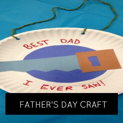 """""""Best Dad I Ever Saw"""" Father's Day Craft 