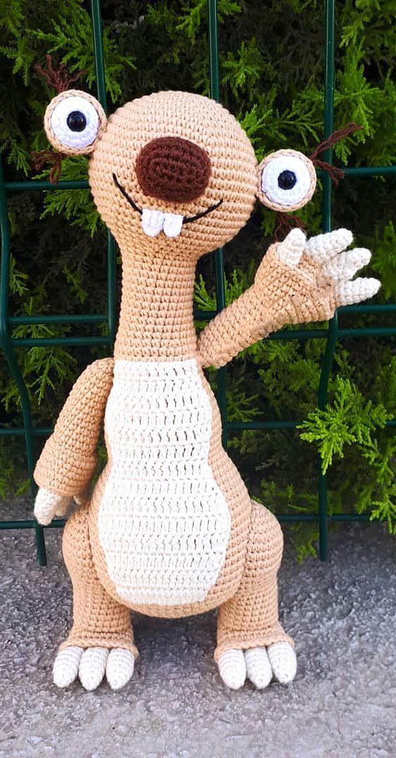 31 Animal and other attractive Amigurumi patterns. Website 9