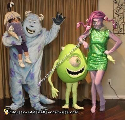 Coolest+Homemade+Monsters+Inc+Group+Costume