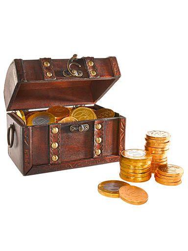 Geld macht nicht glücklich? Diese Münzen schon – denn sie sind aus Schokolade! #Weihnachten # Schokolade