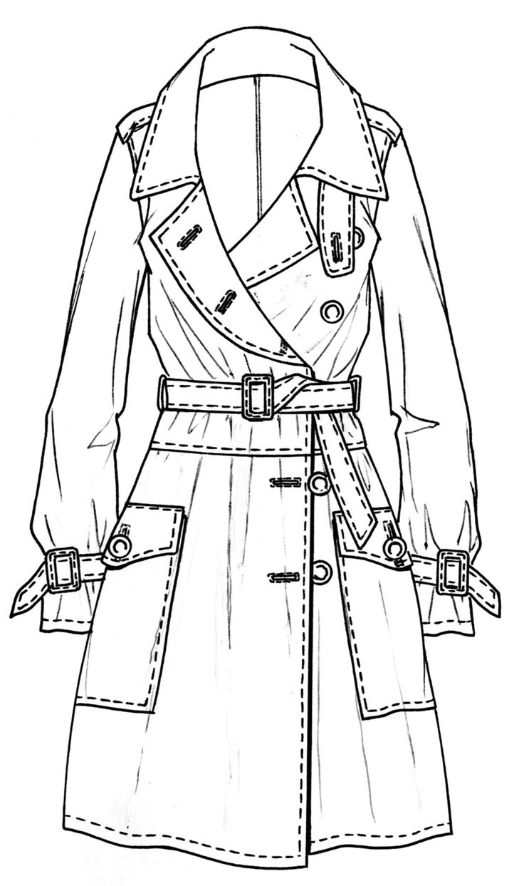 Trench design flat sketch | ♦F&I♦