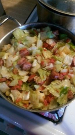 Southern Fried Cabbage With Sausage Recipe - Food.com