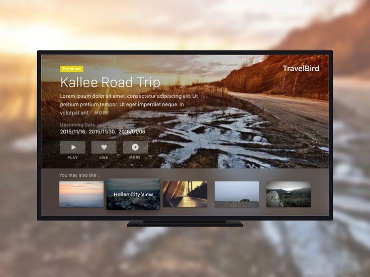 Apple TV App by youlanda kuo