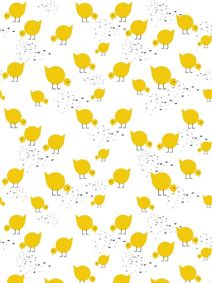 Juli yellow tapeta 1m / lavmi