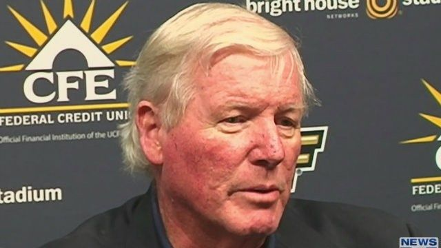 UCF's George O'Leary resigns as football coach