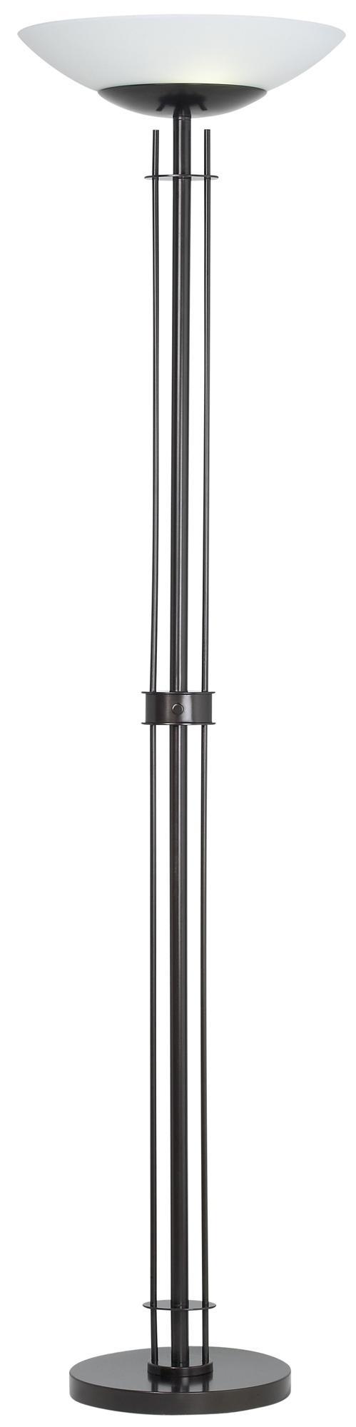 Possini Euro Design Linear Light Blaster Torchiere Lamp | LampsPlus.com