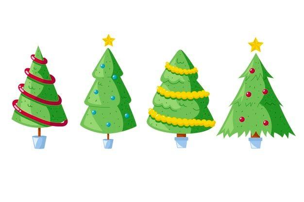 Coleccion De Arboles De Navidad Dibujado Free Vector Freepik Freevector Navidad Arbol Invierno Mano En 2020 Letras Feliz Navidad Navidad Arbol De Navidad