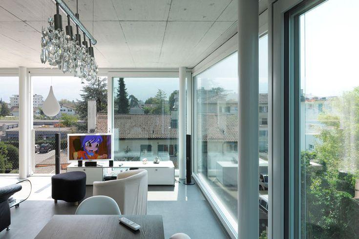 5 Häuser / Lukas Lenherr http://lukaslenherr.ch/work/project/fuenf-haeuser.html